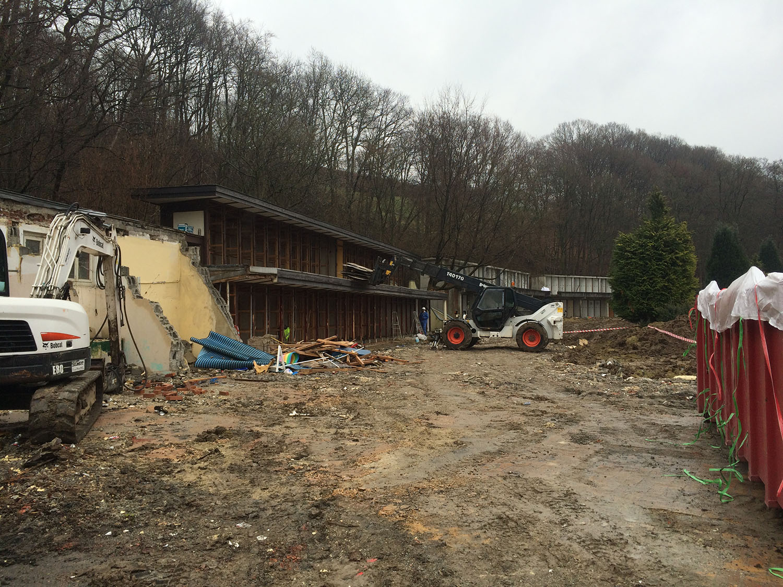 Piscine Eupen Entreprises Di Matteo Fils Demolition